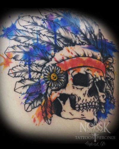 skeletonwatercolor